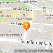 Kartta Dark Side Club Helsinki, Suomi