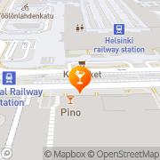 Kartta Minuuttibaari Helsinki, Suomi