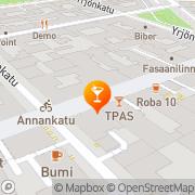 Map Bar Llamas Helsinki, Finland