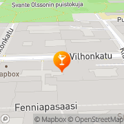 Map Kaisla Helsinki, Finland
