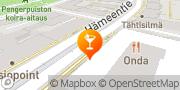 Kartta Ravintola Siltanen Helsinki, Suomi