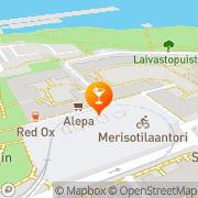 Map Vapaa Satama Helsinki, Finland