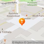 Kartta London Jyväskylä Jyväskylä, Suomi