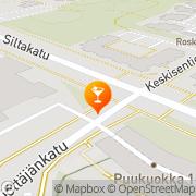 Kartta Ravintola Birra Jyväskylä, Suomi