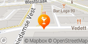 Kaart Proeflokaal Reijngoud Rotterdam, Nederland