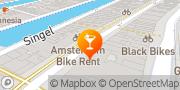Map Prik Amsterdam, Netherlands