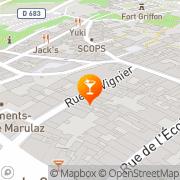 Carte de Espaces Solidaires Besançon, France
