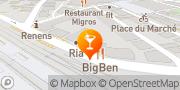 Carte de Big Ben SA Renens, Suisse