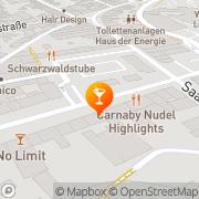 Karte Bistro Shanghai Dillingen, Deutschland