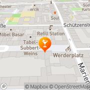 Karte Iuno Karlsruhe, Deutschland