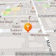 Karte Iuno karlsruhe Karlsruhe, Deutschland