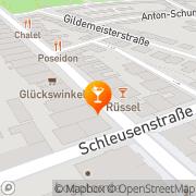 Karte Rüssel Bremerhaven, Deutschland