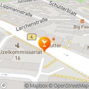 Karte Mutter Hamburg, Deutschland
