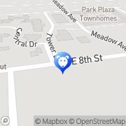 Map Eighth Street Animal Hospital Odessa, United States