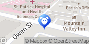 Map 2 Barking Sisters' Dog Spaw Missoula, United States
