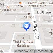 Map Regal Veterinary Clinic Spokane, United States