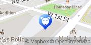 Map Miranda Alcott & Company Los Angeles, United States