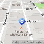 Map sf hound lounge San Francisco, United States