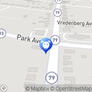Map Central Monmouth Animal Hospital - H Rizkalla DVM Freehold, United States