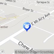 Map Mt Airy Animal Hospital Philadelphia, United States