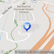 Map PetSuites Cincinnati Airport - Erlanger Erlanger, United States