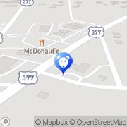 Map Dennis Veterinary Hospital Pilot Point, United States