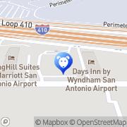 Map PetSuites San Antonio Airport San Antonio, United States