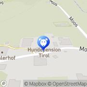 Karte Hundeschule - Hundepension Tirol Leutasch, Österreich