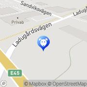 Karta Trollhättans Hundvård & Djurbutiken Trollhättan, Sverige