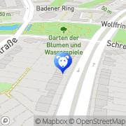 Karte Tierärztliche Praxis Weber Berlin, Deutschland