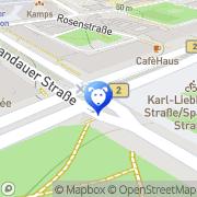 Map Hundebetreuer-in.de Hundebetreuung Berlin Berlin, Germany