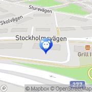 Karta Lidingö Djurbutik & Trim Lidingö, Sverige
