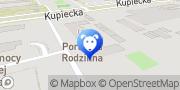Map Crazy World Pets Warsaw, Poland