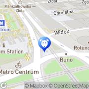 Map Tomicki Tomasz. Weterynaria Warsaw, Poland