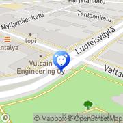Kartta Musti ja Mirri Rauma, Suomi