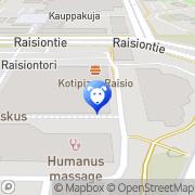 Kartta Lemmikkieläinten Erikoisliike Raision Akvaario Tmi Raisio, Suomi