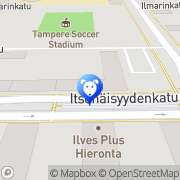 Kartta Trimmausliike Lucky Star Tampere, Suomi