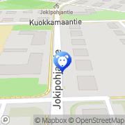 Kartta Eläinlääkäriasema Koira ja Kissa Tampere, Suomi