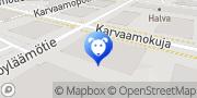 Kartta Eläinlääkäriasema Mevet Helsinki, Suomi