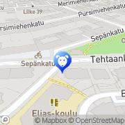Map HemsKatti Helsinki, Finland