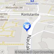 Map Helsingin Eläinpalvelukeskus Helsinki, Finland