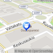 Kartta Kuusaan Akvaario ja Lemmikki Kuusankoski, Suomi