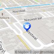 Kaart Pet's Place Leerdam, Nederland