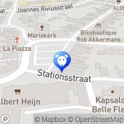 Map Steps-Voncken H L W Kotem, Belgium