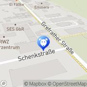 Karte Kerstin Betteldorf Kleintierpraxis Wachtendonk, Deutschland