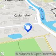 Kaart Dierenarts Reinders J Grijpskerk, Nederland