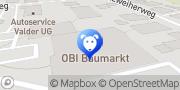 Karte OBI Markt Sinzig Sinzig, Deutschland