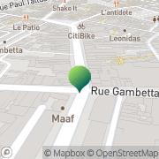 Carte de Recette des Finances Cherbourg, France
