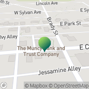 Map Us Post Office Avis, United States