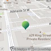 Map Graham Zoppi Criminal Lawyer Toronto, Canada